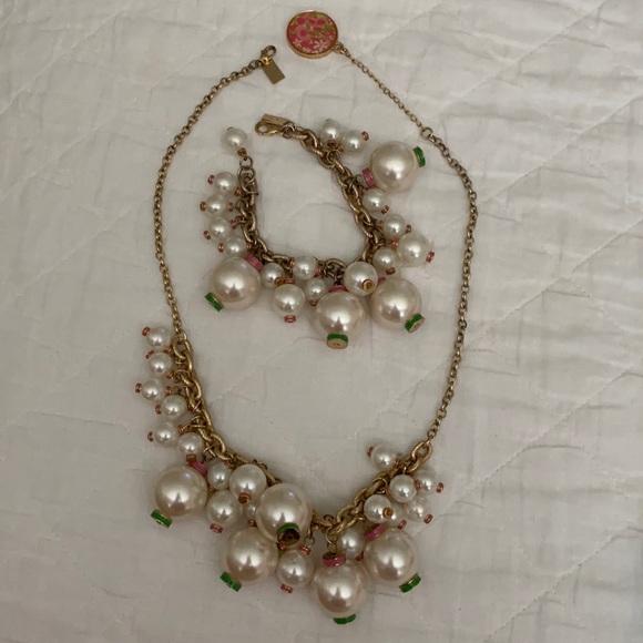 Lilly Pulitzer Goodie Goodie Necklace & Bracelet